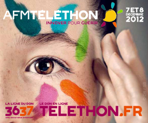 Téléthon 2012 7 et 8 décembre