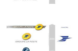 Logos La Poste et groupe La Poste