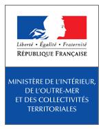 Logo Ministère de l'Intérieur, de l'Outre-Mer et des Collectivités territoriale