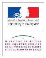 Logo Ministère du Budget des Comptes publics de la Fonction publique et de la Réforme de l'Etat