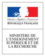 Logo Ministère de l'Enseignement supérieur et de la Recherche