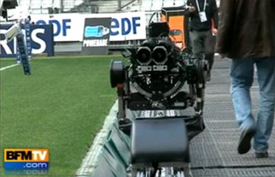 Rugby en 3D sur BFMTV