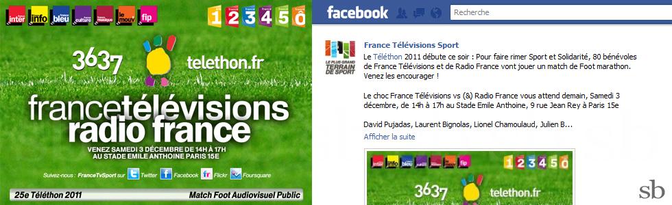 ftv radiofrance telethon