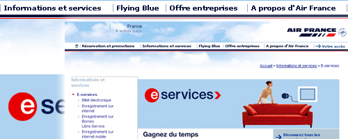 service flying blue air france